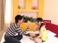 Mini Japanese Miku Airi enjoys sixtynine