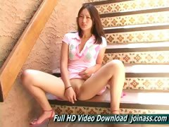 Tia Gorgeous Chinese Teen Pretty Young