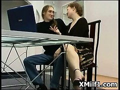 Titillating Beautiful Milf Seduced Coupled with Penetrated Hot