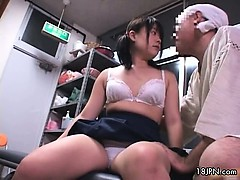 Sexy asian babe gets horny riding part2