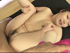 Ugly Haruka Oosawa in hardcore group sex!