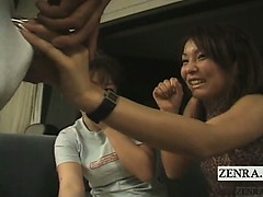 Subtitled CFNM Japanese amateur penis show about Hawaii