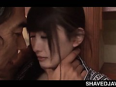 Jap unpredictable intensify guy enjoying a pair be proper of firm tits coupled with a teen small pussy